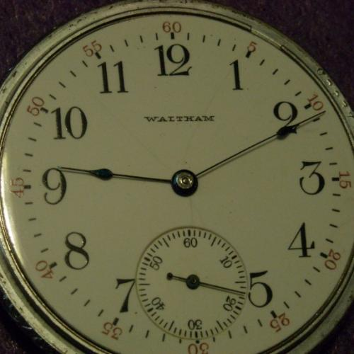 Image of Waltham No. 620 #15378317 Dial