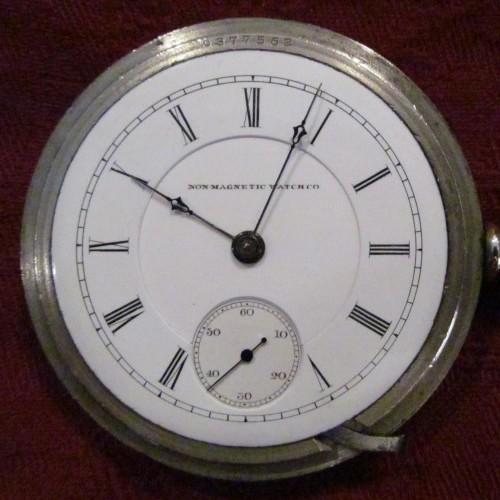 Peoria Watch Co. Grade Railroad Pocket Watch Image