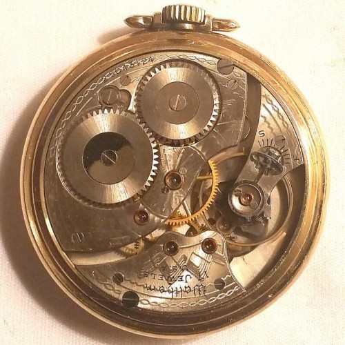 Waltham Grade No. 225 Pocket Watch Image