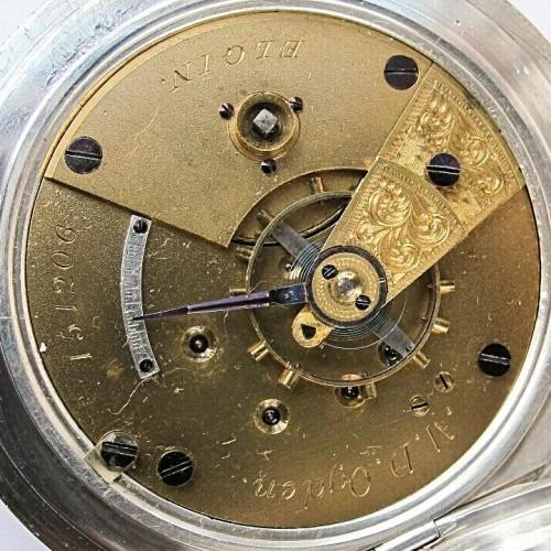 Elgin Grade 12 Pocket Watch Image