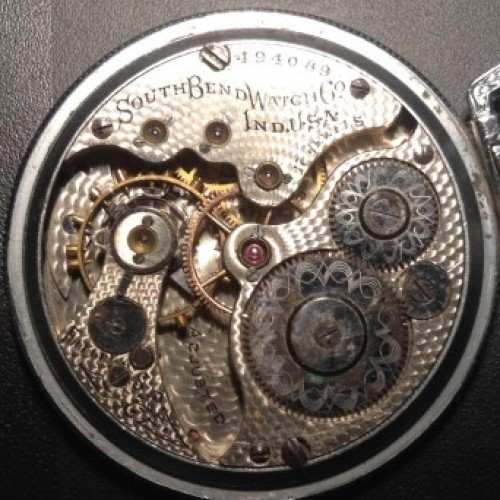 South Bend Grade 290 Pocket Watch Image