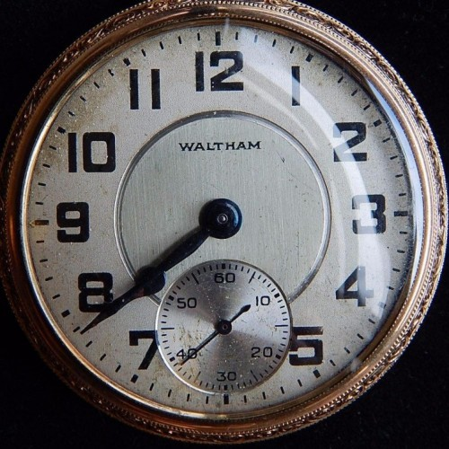 Image of Waltham No. 645 #22035032 Dial