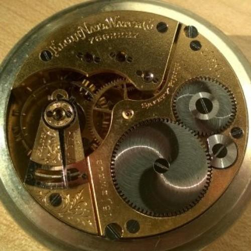 Elgin Grade 185 Pocket Watch Image