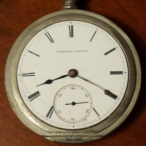 National Watch Co. Grade 57 Pocket Watch Image