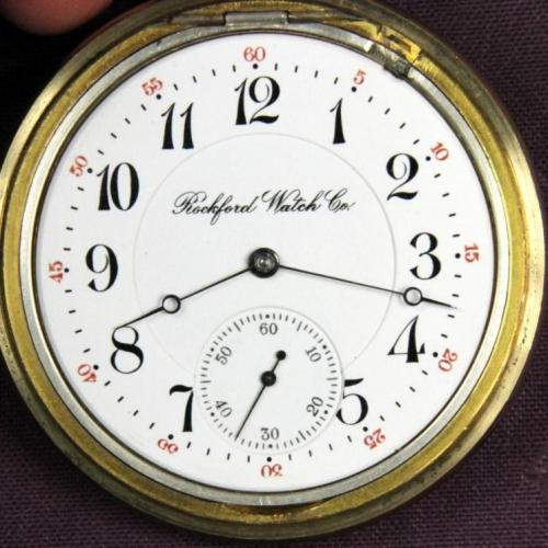 Rockford Grade 555 Pocket Watch Image