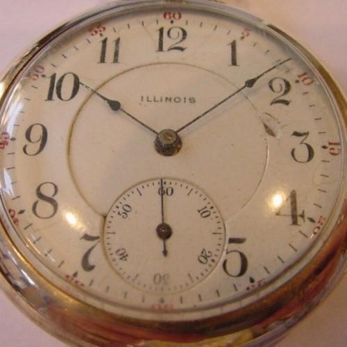 Illinois Grade 303 Pocket Watch Image