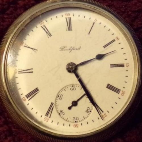 Rockford Grade 930 Pocket Watch Image