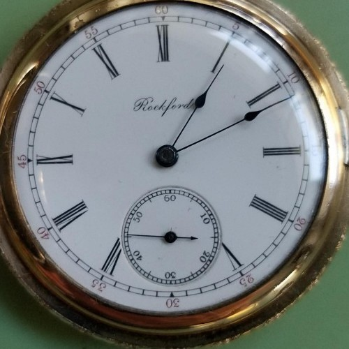 Rockford Grade 162 Pocket Watch Image