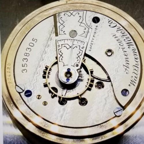 Waltham Grade No. 3 Pocket Watch Image