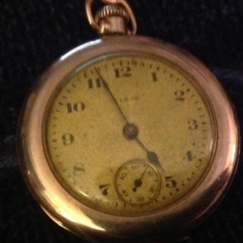 Elgin Grade 463 Pocket Watch Image