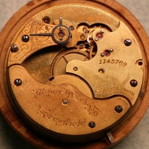 Illinois Grade 111 Pocket Watch Image