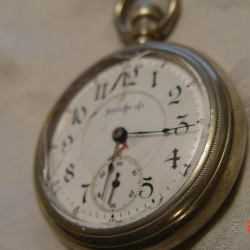 Illinois Grade Bunn Pocket Watch Image