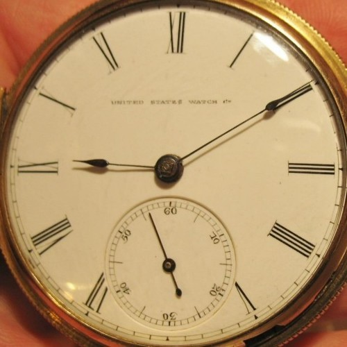 U.S. Watch Co. (Marion, NJ) Grade United States Watch Co.  Pocket Watch Image
