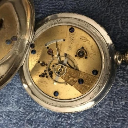 National Watch Co. Grade 69 Pocket Watch Image