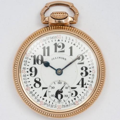 Illinois Grade 161 Pocket Watch Image