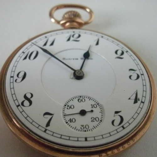 South Bend Grade 211 Pocket Watch Image