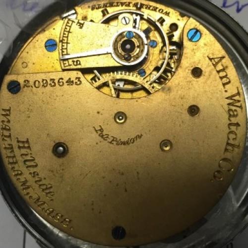 Waltham Grade Hillside Pocket Watch Image