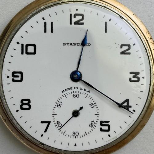 New York Standard Watch Co. Grade 1571 Pocket Watch Image