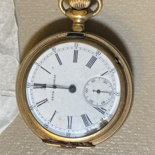 Seth Thomas Grade 35 Pocket Watch Image