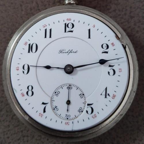 Rockford Grade 945 Pocket Watch Image