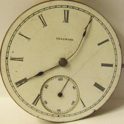 Illinois Grade 150 Pocket Watch Image