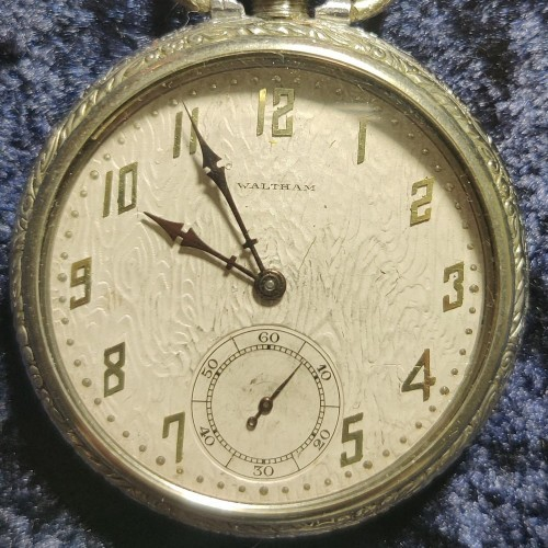 Waltham Grade Riverside A Pocket Watch Image