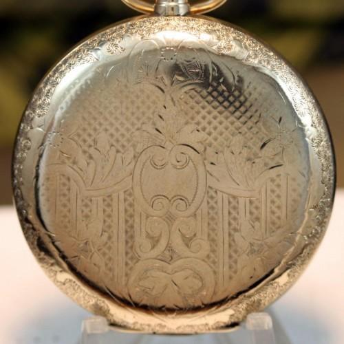Illinois Grade 187 Pocket Watch Image