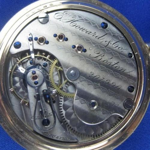 E. Howard & Co. Grade VII Pocket Watch Image