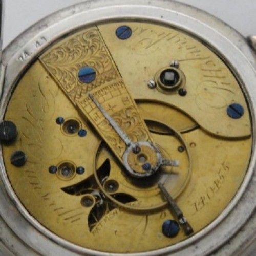 U.S. Watch Co. (Marion, NJ) Grade Special Order - L H Dunseath (Edwin Rollo) Pocket Watch Image