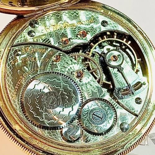 Elgin Grade 455 Pocket Watch
