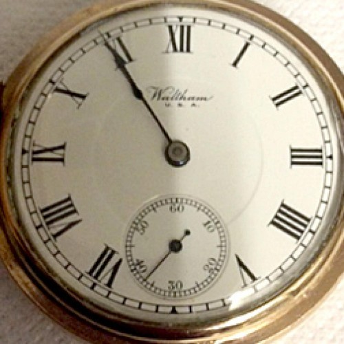 from Eliseo waltham pocket watch serial number dating