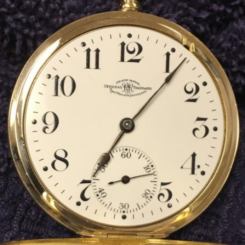 Image of Ball - Waltham Official Standard #B214364 Dial