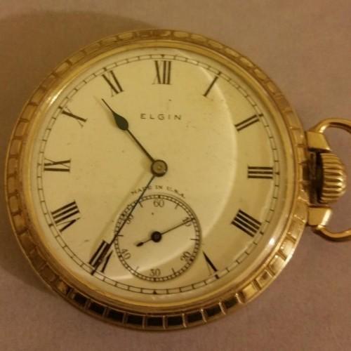 Elgin Grade 292 Pocket Watch Image