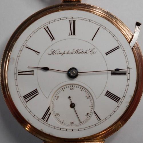 Hampden Grade No. 54 Pocket Watch Image