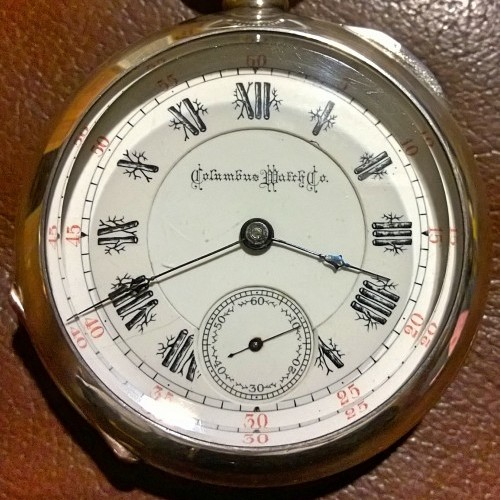Columbus Watch Co. Grade Unknown Pocket Watch Image