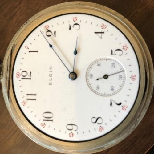 Elgin Grade 246 Pocket Watch Image