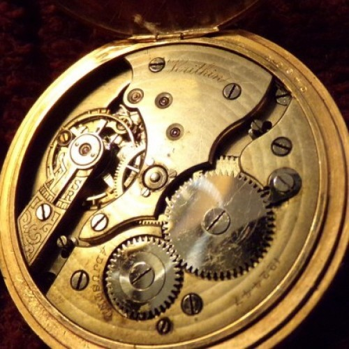Gruen Watch Co. Grade Verithin Pocket Watch Image