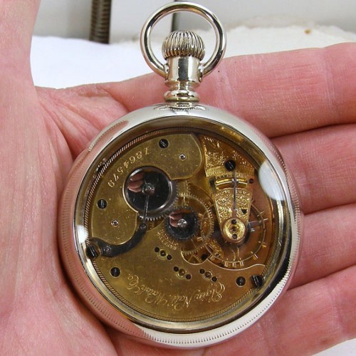 Elgin Grade 100 Pocket Watch Image