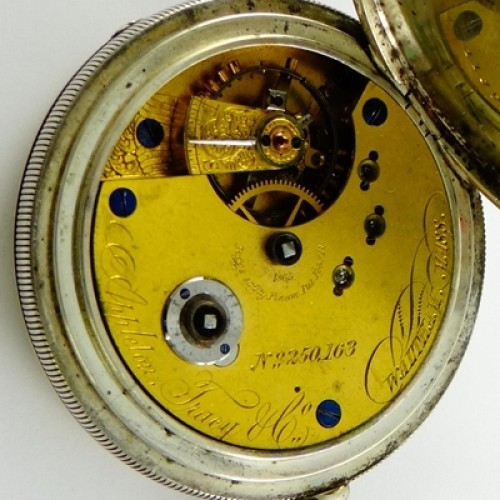 American Watch Co. Grade Appleton Tracy and Co Pocket Watch Image