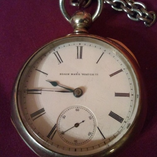 Watches, Parts & Accessories Collection Here Montgomery Bros A.w.w Waltham 15 Jewel Pocket Watch 14k Gold Fill Keystone