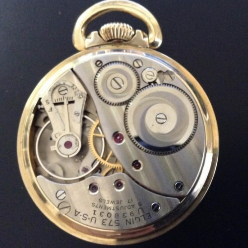 Elgin Grade 573 Pocket Watch Image
