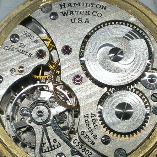 Image of Hamilton 992B #C55802 Movement