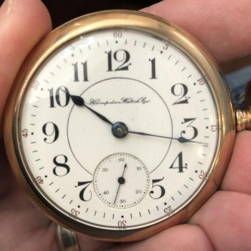 Hampden Grade Special (Adjusted) Pocket Watch Image