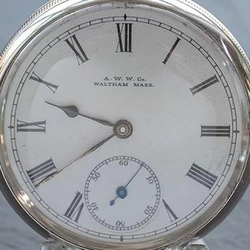 Waltham Grade No. 20 Pocket Watch Image