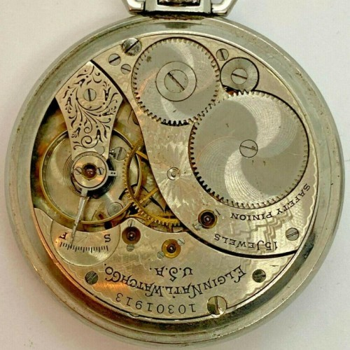 Elgin Grade 235 Pocket Watch Image