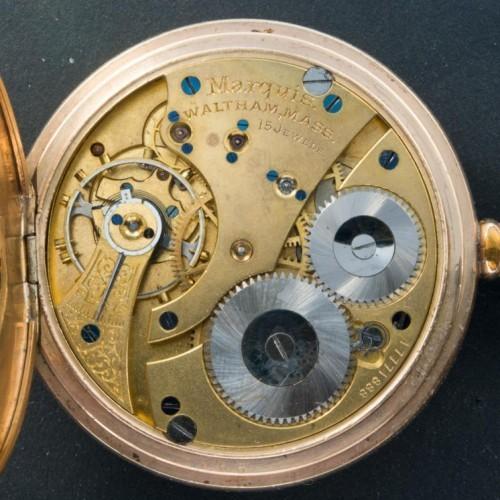 Waltham Grade Marquis Pocket Watch Image