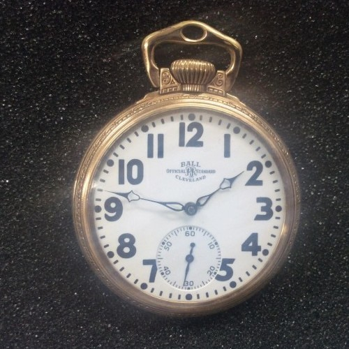 Ball Grade 810 Pocket Watch Image
