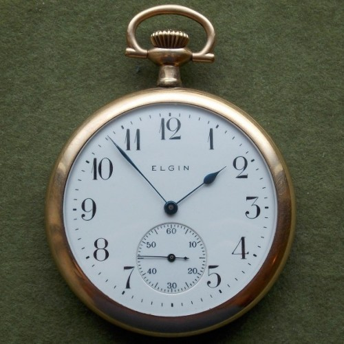 Elgin Grade 394 Pocket Watch Image