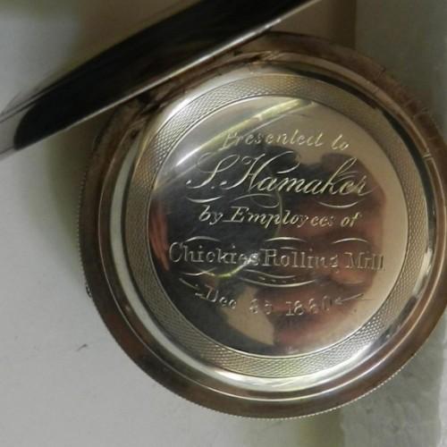 Hampden Grade Hayward Pocket Watch