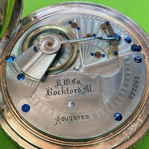 Rockford Grade 77 Pocket Watch Image